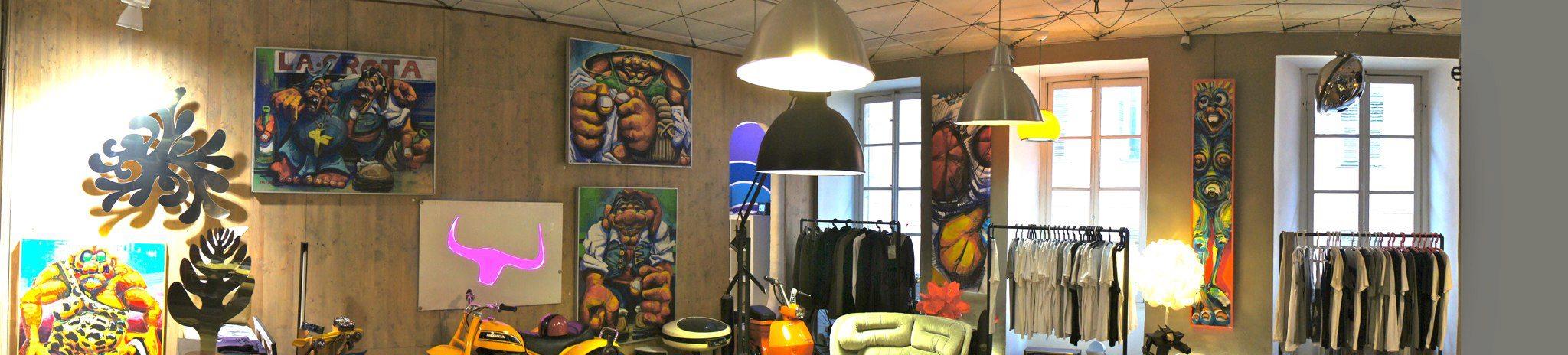 Popart Nice concept store et sa galerie d'art