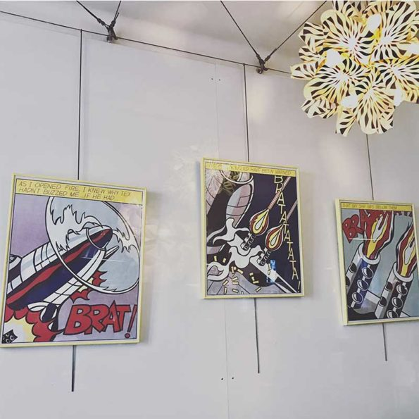 Three Offset Lithographs by Roy Lichtenstein