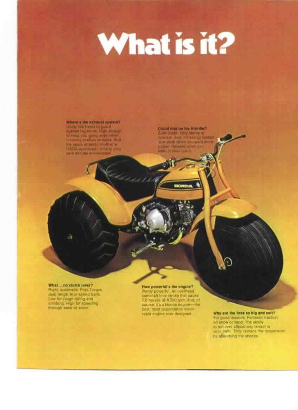 ATC 90 US Honda 1970