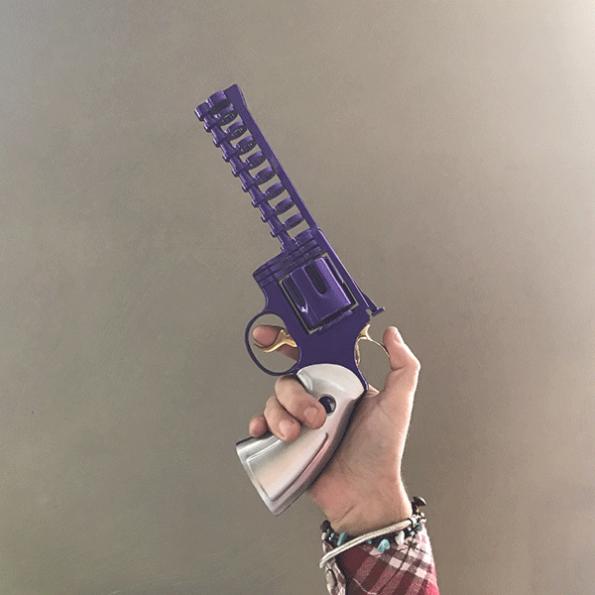 Minigun Colt 357 » Purple»