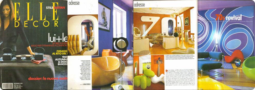 Elle decor et design70 /POPART Galerie