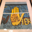 "Le mur de Berlin ""EA"" by Peter Klasen"