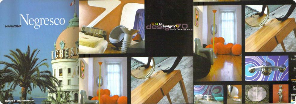 Negresco et design 70