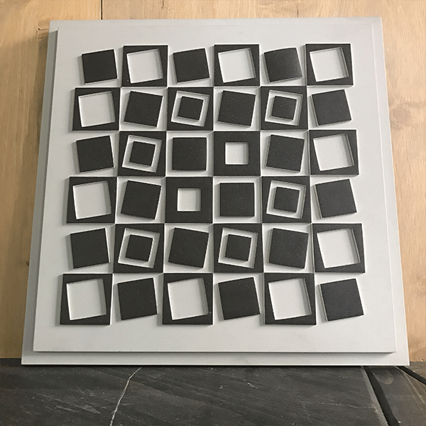 Relief Of Vasarely