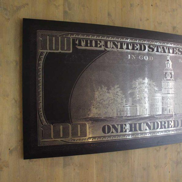 Sculpture Matrice US Dollars