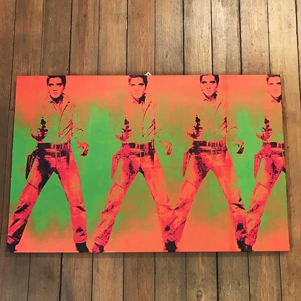 Hommage Warhol by John Kriss