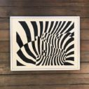 ZEBRES by Vasarely