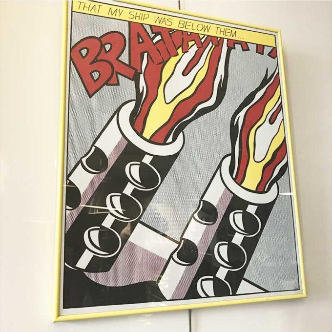 Three Offset Lithographs by Roy Lichtenstein
