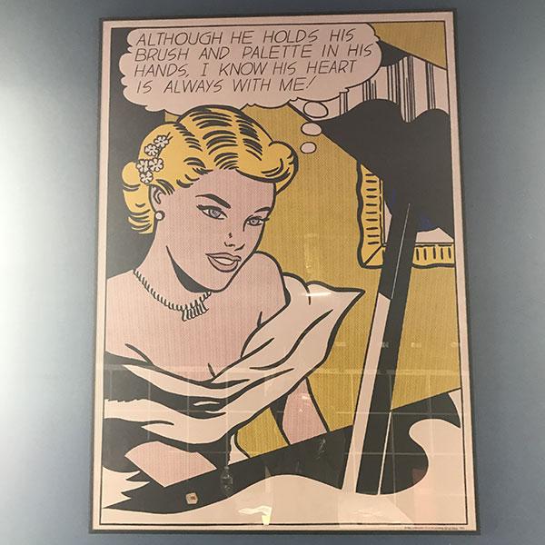 Girl At The Piano Roy Lichsteintein