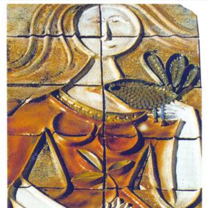 Max Boissaud Ceramique de Vallauris 1960