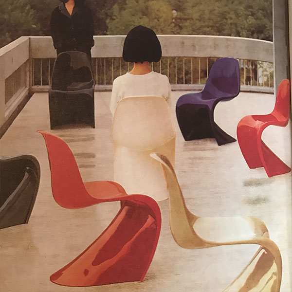 Prototype 1983 Verner Panton Fourth Edition for Vitra
